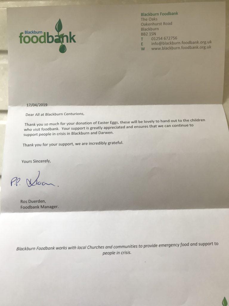 Blackburn Food Bank