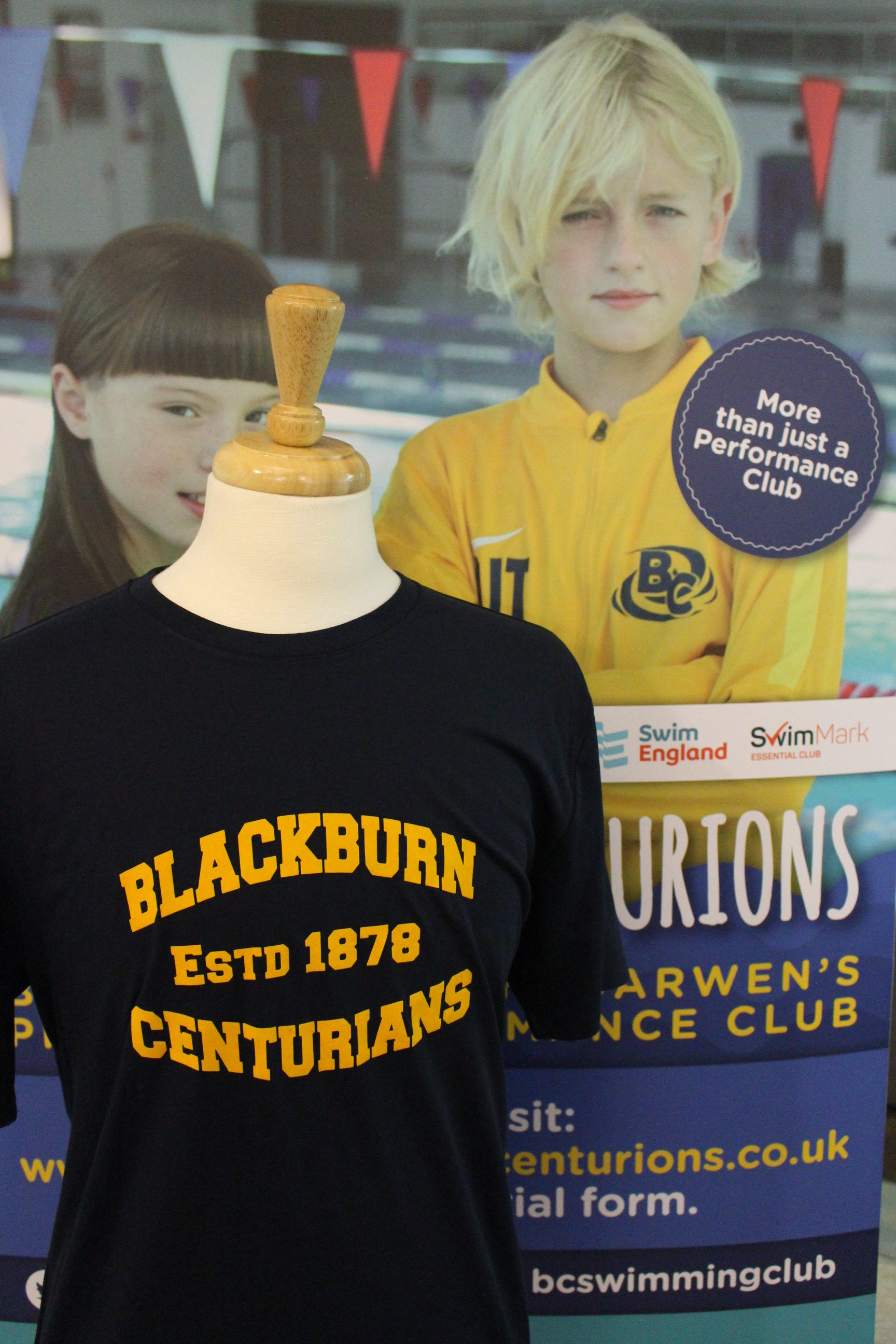 Blackburn Centurion Support Tee
